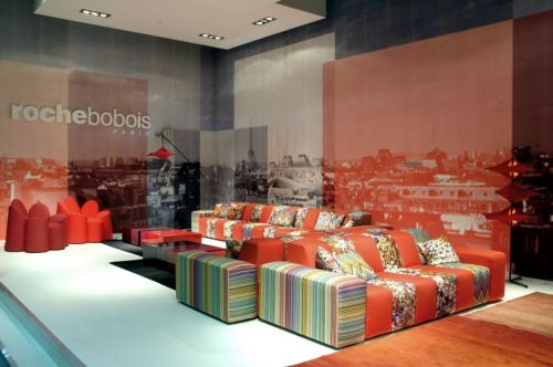 Roche Bobois Paris at the Salone del Mobile 2010