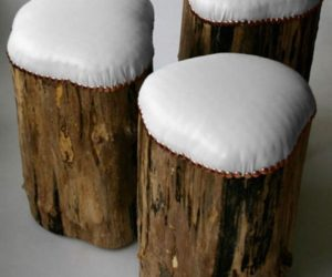 Trendy Stump Stools from Cumulus Project