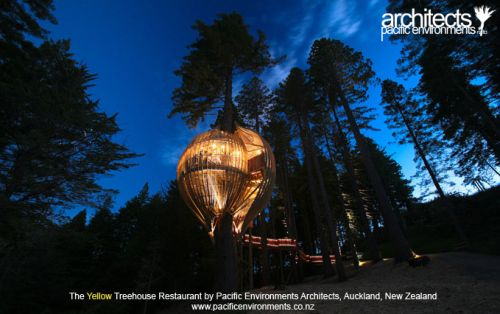 Yellow Treehouse Restaurant from New Zealand