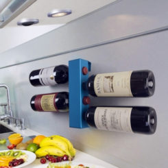 Vynebar Vertical Wine Rack Breaks The Monotony