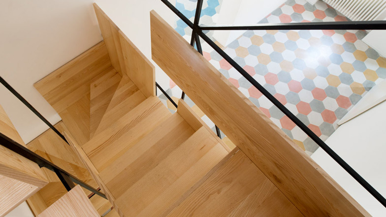 staircase design ideas A Sculptural Staircase