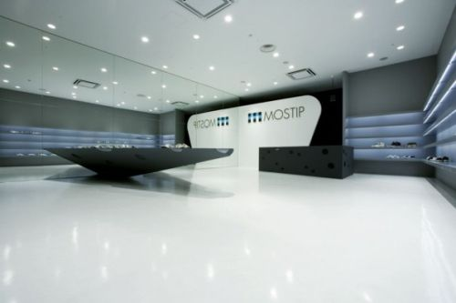 Eastern Design Office Designed The MOSTIP Shoe Shop