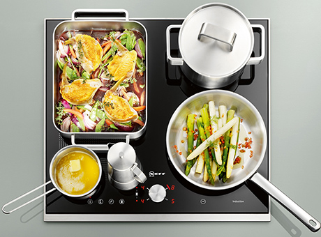 neff flexinduction hobs make cooking a pleasure. Black Bedroom Furniture Sets. Home Design Ideas