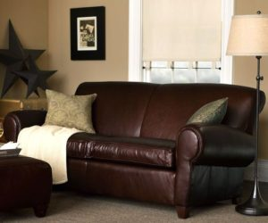 Manhattan Leather Studio Sofa:The perfect leather sofa for your room