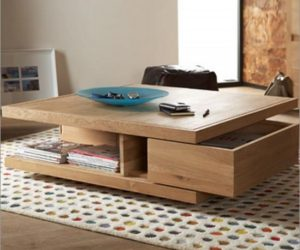 Decorating With Wood Coffee Tables – Elegance Meets Versatility
