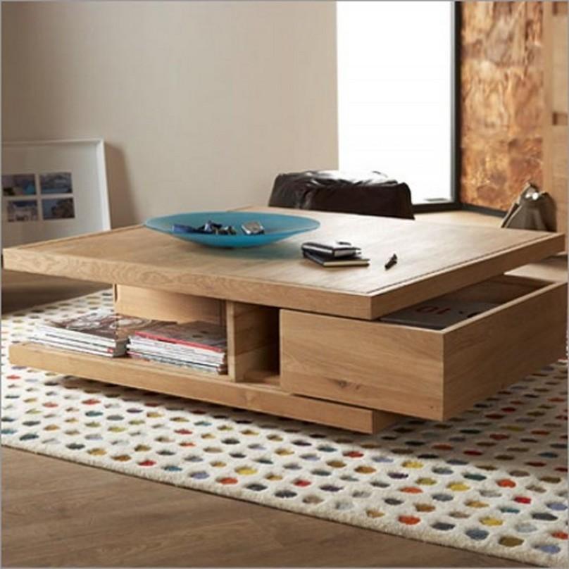 Wood ethos coffee table