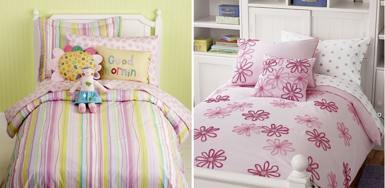 Girls From The Land Of Nod, Land Of Nod Bedding Girl