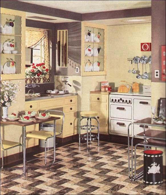 Classic Retro Kitchen Ideas Interior