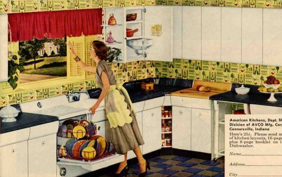 1953 Retro American Kitchen