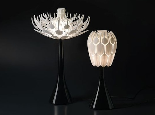 Marvelous Bloom Lamp: A Lamp That Blossoms Into A Flower For Lighting