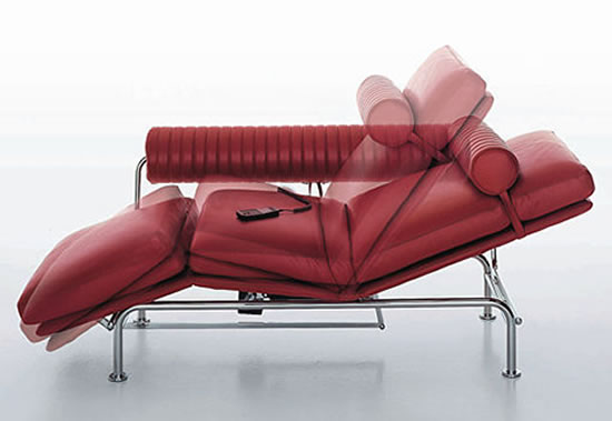 Remote controlled Up & Down Lounge Sofa