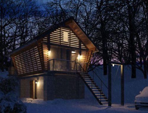 The Corn Cribs Inspired Crib Prefab Facility