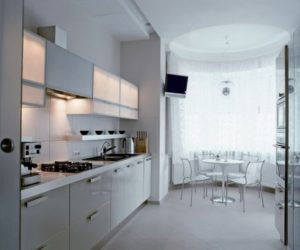 Modern White Interior House in Kharkov by Vladimir Latkin