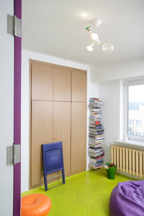 Tamka Apartment in Warsaw Poland is Utterly Cheerful