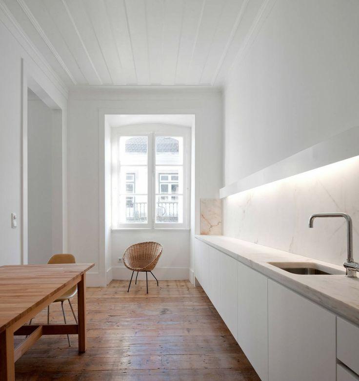 24 Ideas Of Modern Kitchen Design In Minimalist Style: Minimalist Kitchen Design Ideas