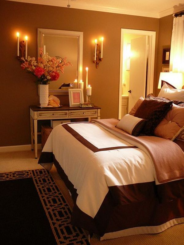 Make your bedroom romantic