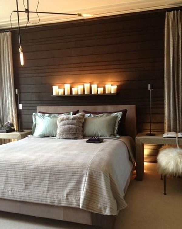 How You Can Make Your Bedroom Look And Feel Romantic - Romantic candle light bedroom