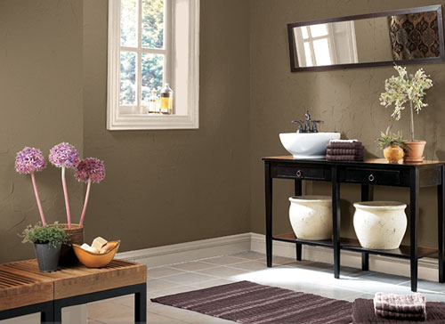 How to decorate a bathroom on a tight budget for Decorating living room on a tight budget