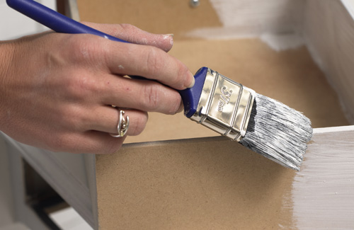 How to Paint Old Wood Furniture