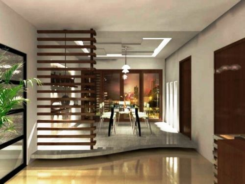 View In Gallery Subtle Differences Floor Level And Semi Transparent Room Dividers