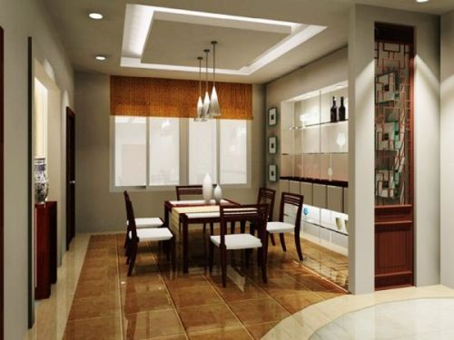Separate Dining Room Usually Has A Formal Atmosphere View