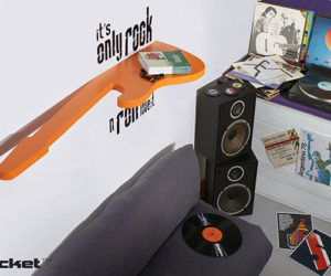 Theme your room to music for Funky home decor accessories