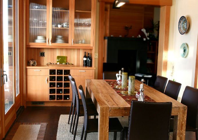 kitchen storage for wine bottles