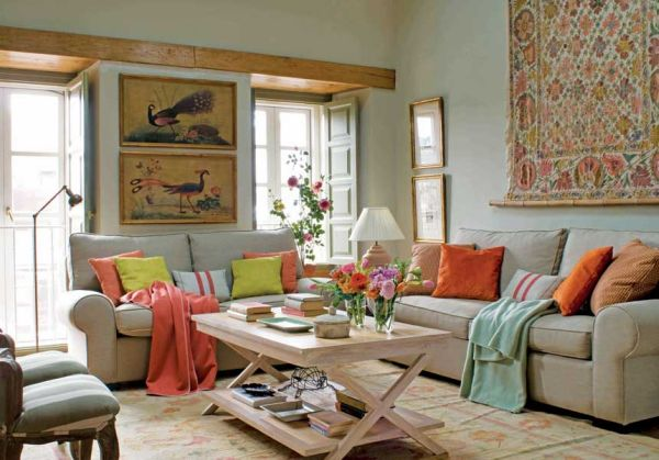 Gentil Orange And Green The Key To The Perfect Rustic Homes