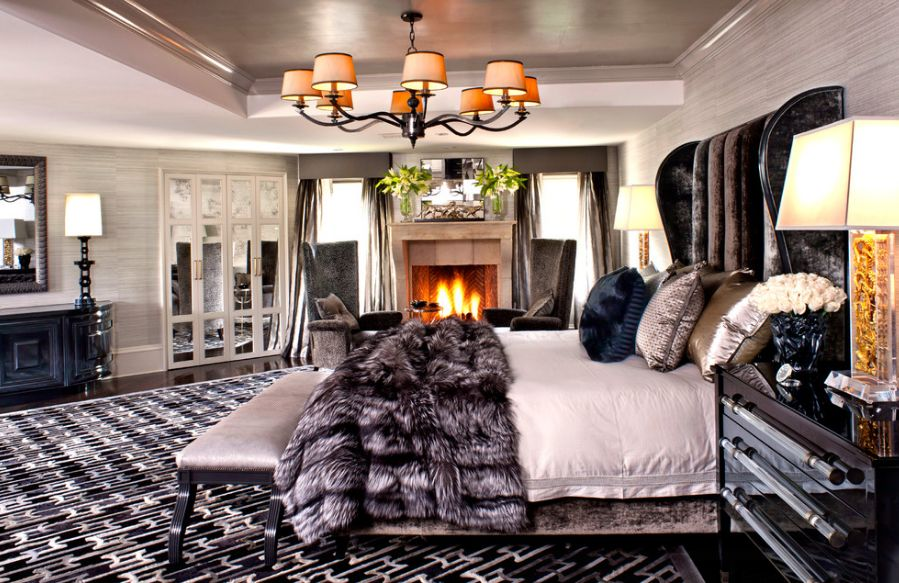 How you can make your bedroom look and feel romantic for Posh bedroom designs
