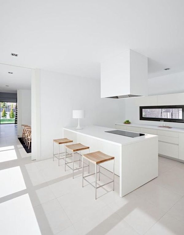 minimalist kitchen interior design.  View in gallery Minimalist kitchen design ideas