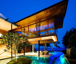 Eco-friendly luxury residence in Singapore lets nature become a part of it