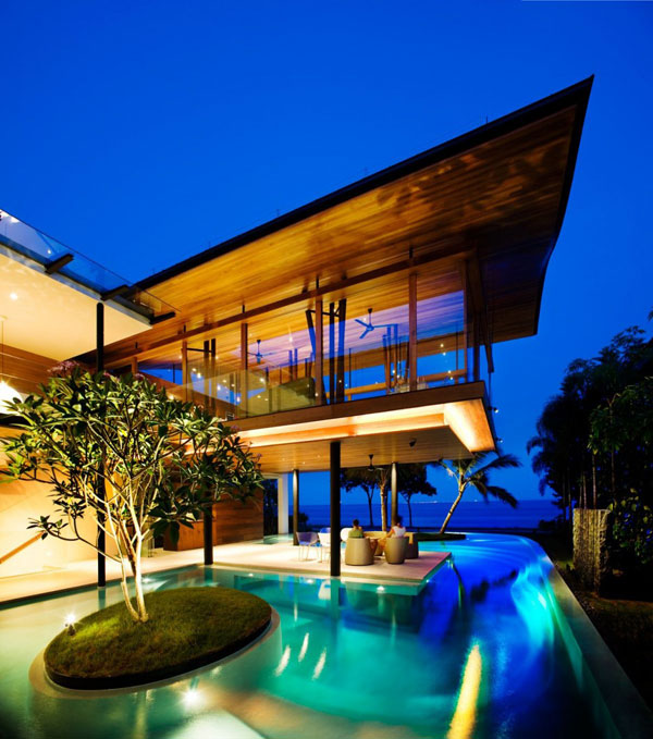 Eco Friendly Luxury Residence In Singapore Lets Nature ...