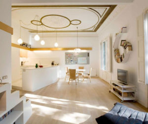 Miel Arquitectos Barcelona Apartment Makeover