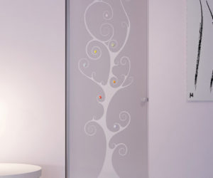 Modern glass doors by Italian company OTC Doors