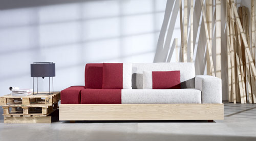 Save Space With Palet Sofa From Stone Designs