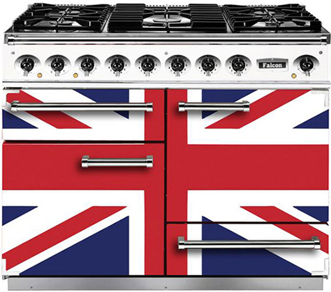 Turn Up The Heat With The Attractive Falcon Range Cooker From Union Jack