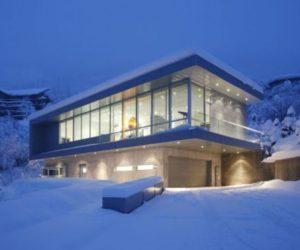 Beautiful Residence in Aspen, Colorado With Awesome View by Studio B Architects