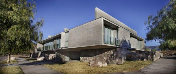 Sobrino House In Medoza , Argentina By A4estudio Ideas