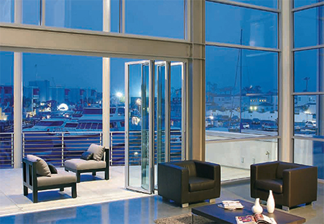 Sectional Glass Garage Doors Used In Modern Designs. They ...