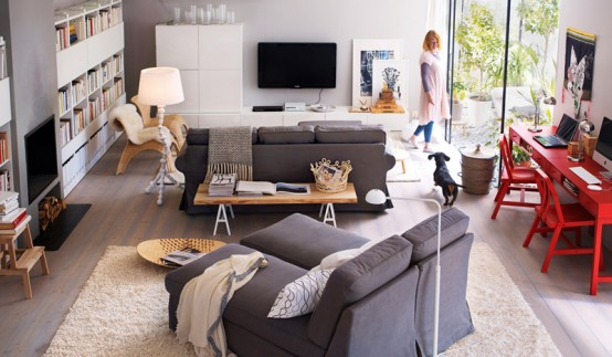 Merveilleux ... 2011 IKEA Living Room Design Ideas