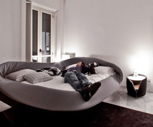 Contemporary Col-Letto Bed from Lago