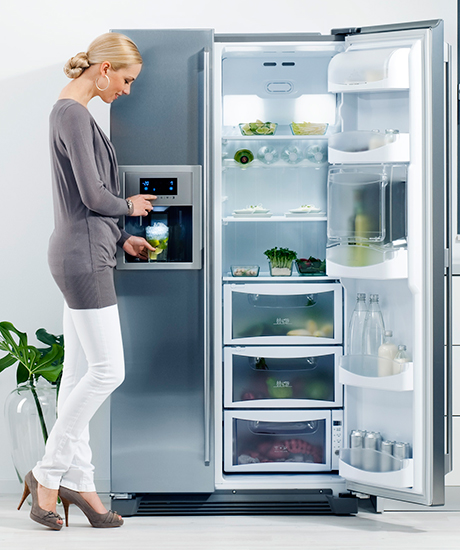 Just Another AEG Side By Side Refrigerators