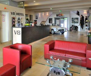 V8 Hotel for Car Lovers in Germany
