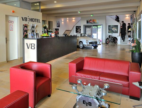 V8 Hotel For Car Lovers In Germany