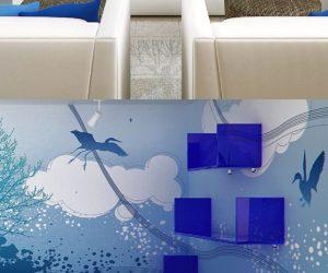 Beautiful Mural Azul Nice Look