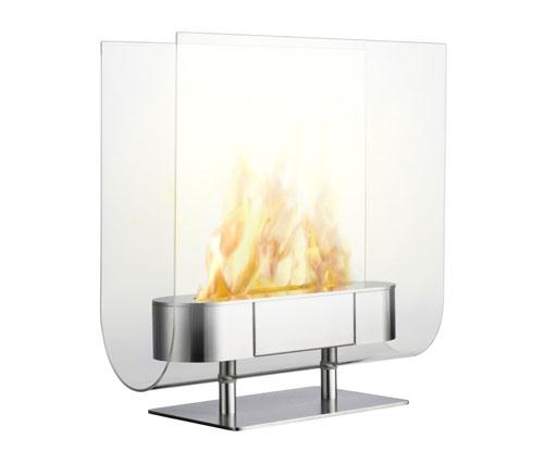 Modern Ethanol Fueled Fireplace