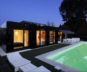 Modularing House In Madrid, Spain · Modern And Contemporary Black Home By  A Cero Amazing Pictures
