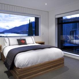 Modern Residence With A Bridge-Like Living Room