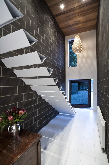 Shallard House Floating Stairs