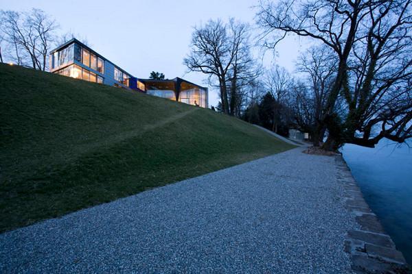 Ultra-modern house situated in Geneva, Switzerland